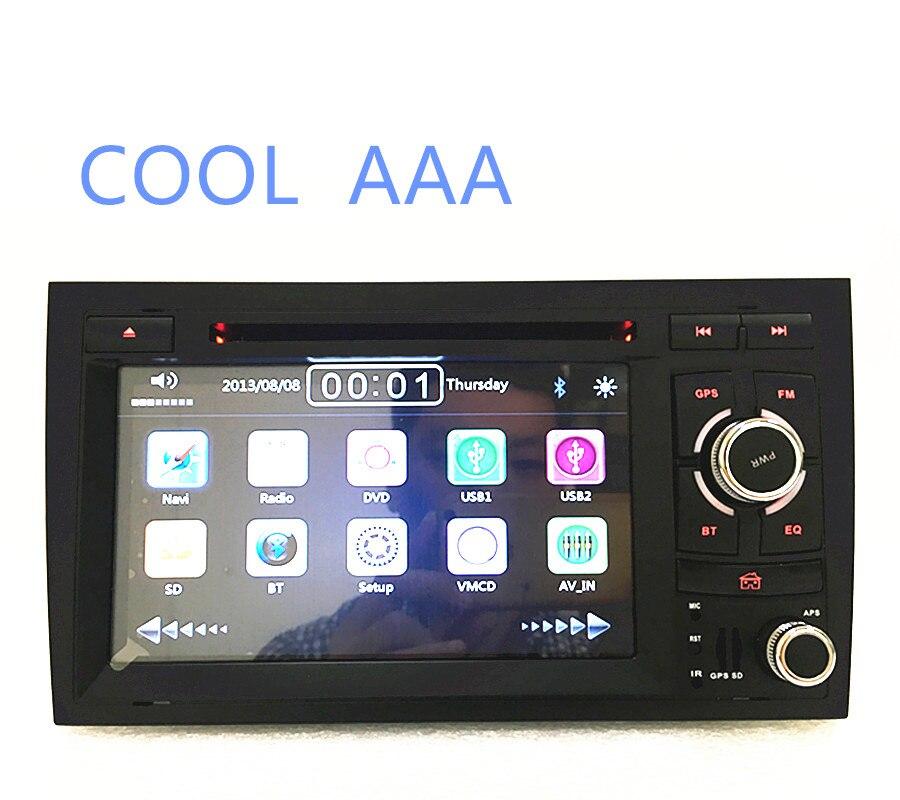 imágenes para 2din 7 ''coche gps de navegación Dvd para Audii A4 S4 RS4 2004-2008 radio Car Stereo Con BT Ipod Del Volante 3G