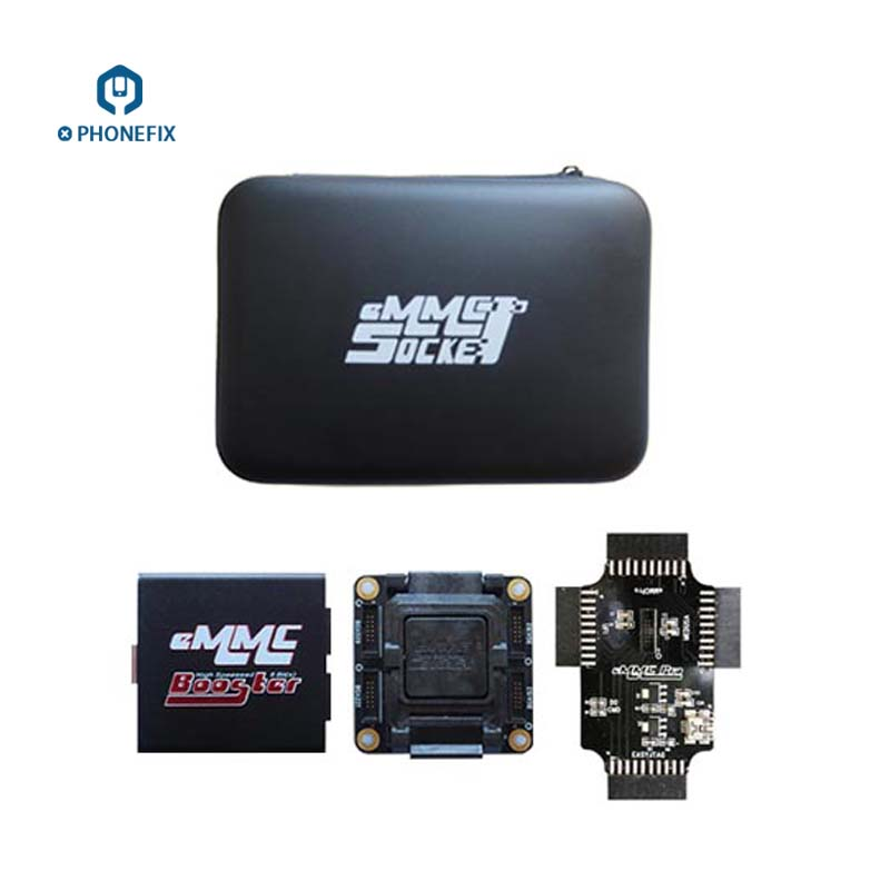 PHONEFIX Original EMMC Booster Tool EMMC Socket Device Support EMMC BOX Easy Jtag Plus UFI Box