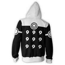Naruto 6 Paths Saga Mode Zip Up Hoodie