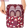 FLYING BIRDS Storage shoe bag Cosmetic Bags Makeup Bag Cosmetic case Dumpling Large Women Packages Waterproof bag LM4094fb