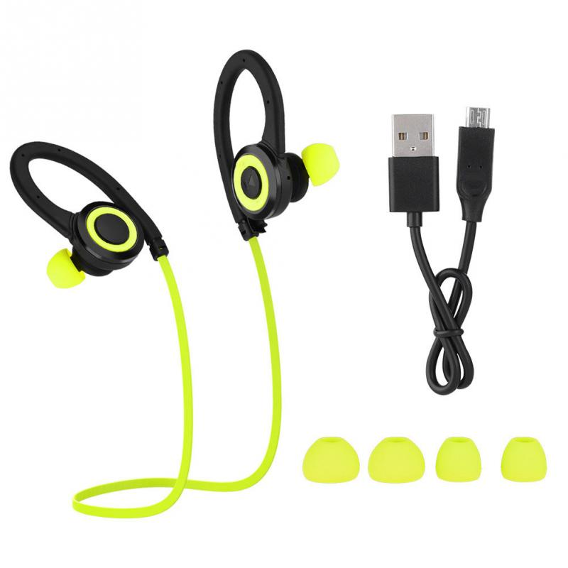 Stereo Wireless Headphones Sport 1-for-2 Phone Connection Noise Cancelling Sports Headphones