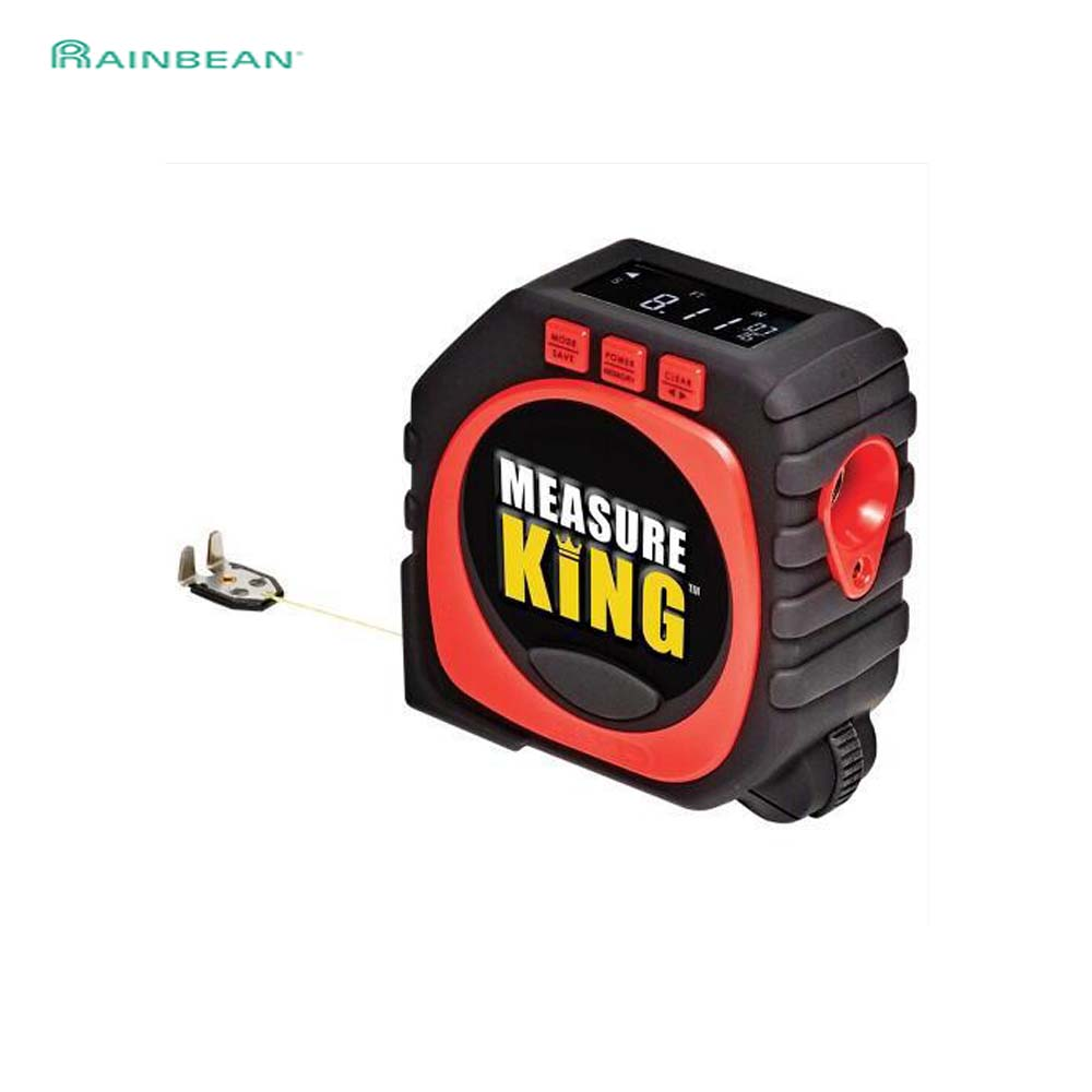 Precise Measure King 3-in-1 Digital Tape Measure String Mode Sonic Mode Roller Mode Universal Furniture Measuring Tool