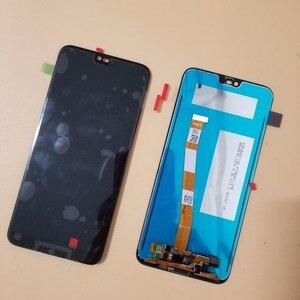 Image 2 - Mit Rahmen Für Huawei Honor 10 COL L29 LCD Display Touchscreen Digitizer Montage Ersatz Mit Fingerprint