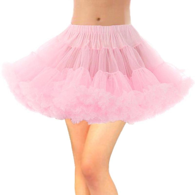 Cheap Wedding Accessories 8 Colors Petticoat Tulle Skirt Petticoats for Wedding Dress Crinoline Underskirt Jupon Saia