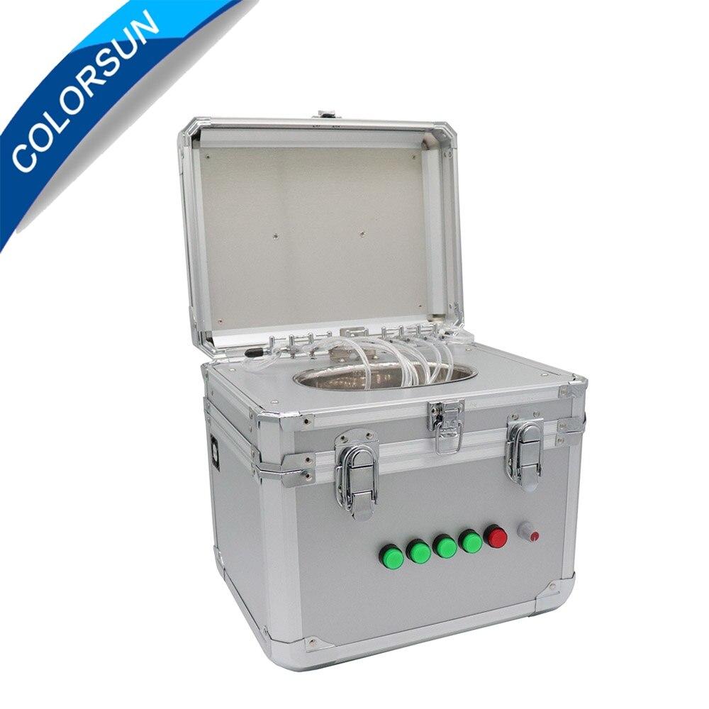 Nettoyeur à ultrasons machine pour Epson DX4 DX5 DX7 tête d'impression imprimante cleaner