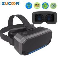 Caixa de Óculos de Realidade Virtual 3D VR H2 Android 2560*1440 P Todo em um VR Capacete Óculos De Filme de Vídeo Game Sem Fio Bluetooth Gamepad