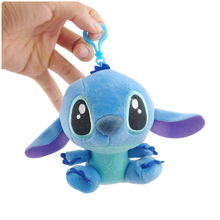 Cartoon Stitch Lilo & Stitch Plush Toy Dolls , Hot Small Pendant Soft Stuffed Animals Toy For Baby Kids Birthday Christmas Gifts stitch bouquet plush stuffed carton animals toys artificial kawaii cartoon fake flowers best birthday christmas day gifts