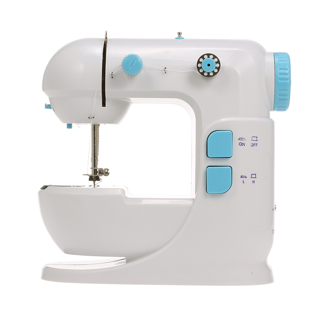 Electric Mini Sewing Machine For Home Hand Machine To Sew Speed Adjustment with LED Light Free Handheld Sewing Machine US Plug