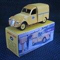 1/43 Atlas Dinky Toys Car 560 Citroen 2CV Fourgonnette Postal vehicles Models For Baby Toys Gifts