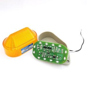 Image 2 - Anzeige licht N 3051 Strobe Signal Warnung licht Lampe kleine Blinklicht Sicherheit Alarm 12 V 24 V 220 V LED IP44