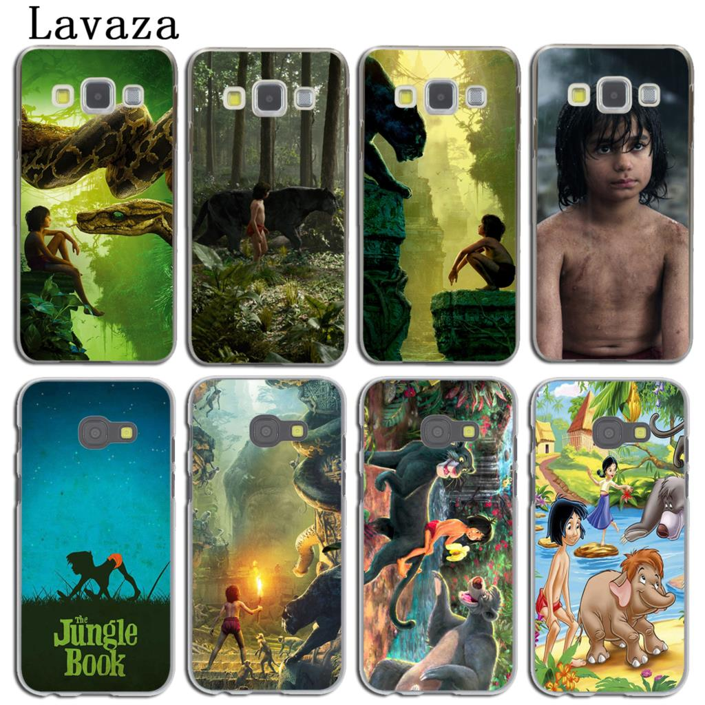 Lavaza The Jungle Book Phone Shell Case for Samsung Galaxy A8 A7 A5 A3 2015 2016 2017 2018 Note 8 5 4 3 Grand Prime 2 Cover