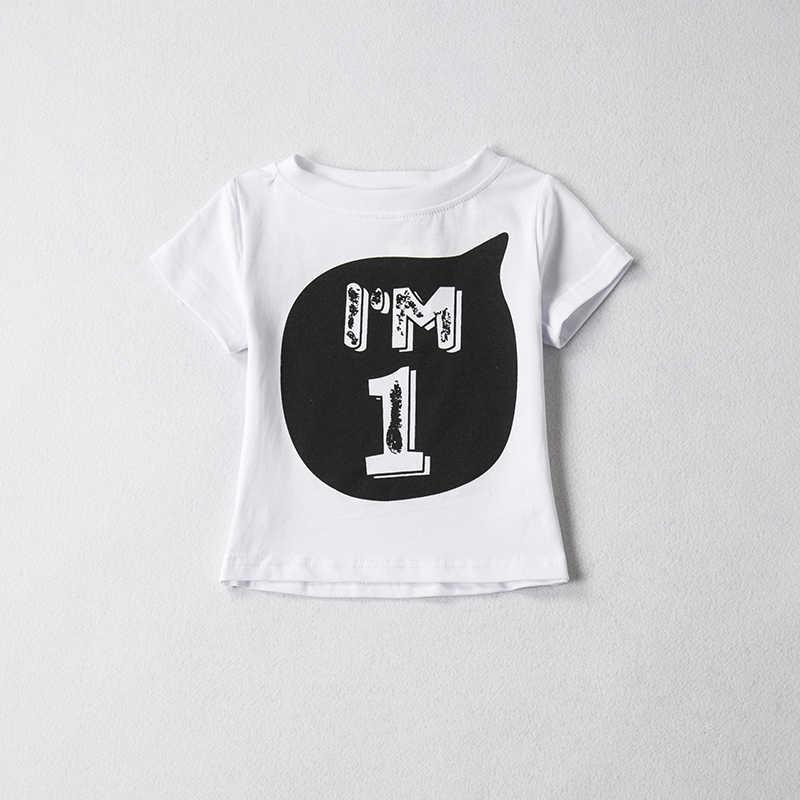 1ba55243daab Baby Boys Girls T Shirt Tops Tees Summer Kids Clothes Cotton Outfits  Children s T-shirts