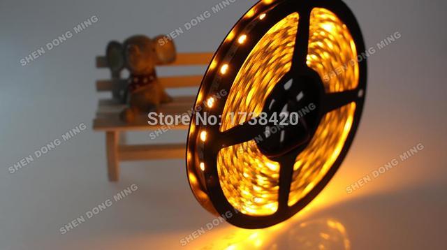 20 מטרים חבל RGB 20 m LED רצועת 5050 SMD 12 V 60 נוריות/m אדום/ירוק/כחול/לבן/RGB/צהוב 12 V גמיש אור smd5050 waterproof no