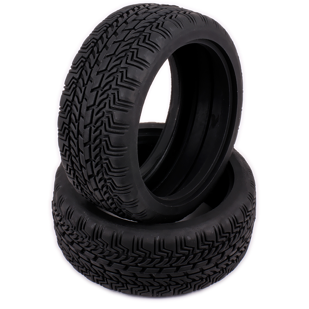 Natural Rubber Tire Tyre For Rc Hobby 1 10 On Road Racing