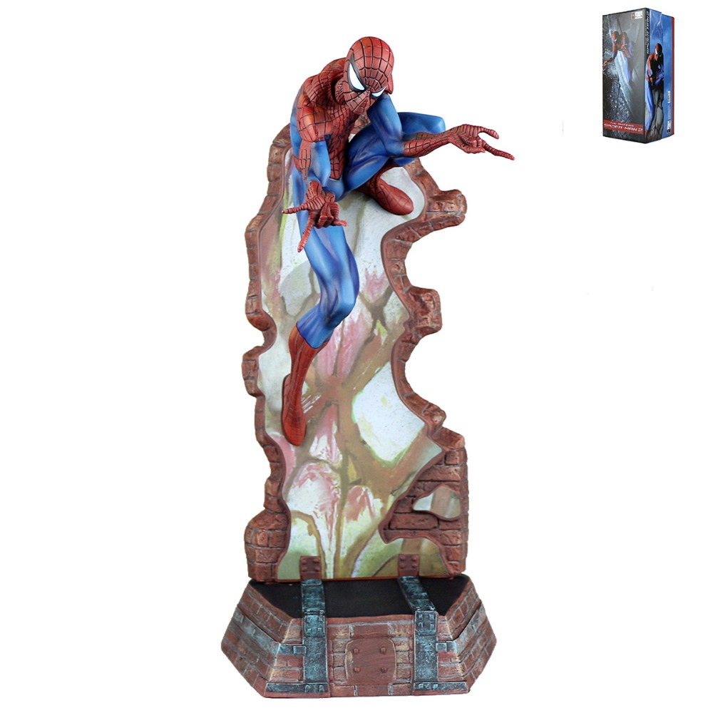 The Amazing Spider Man Spider-Man 2 Figure Blue Ver Free Shipping amazing spider man vol 2