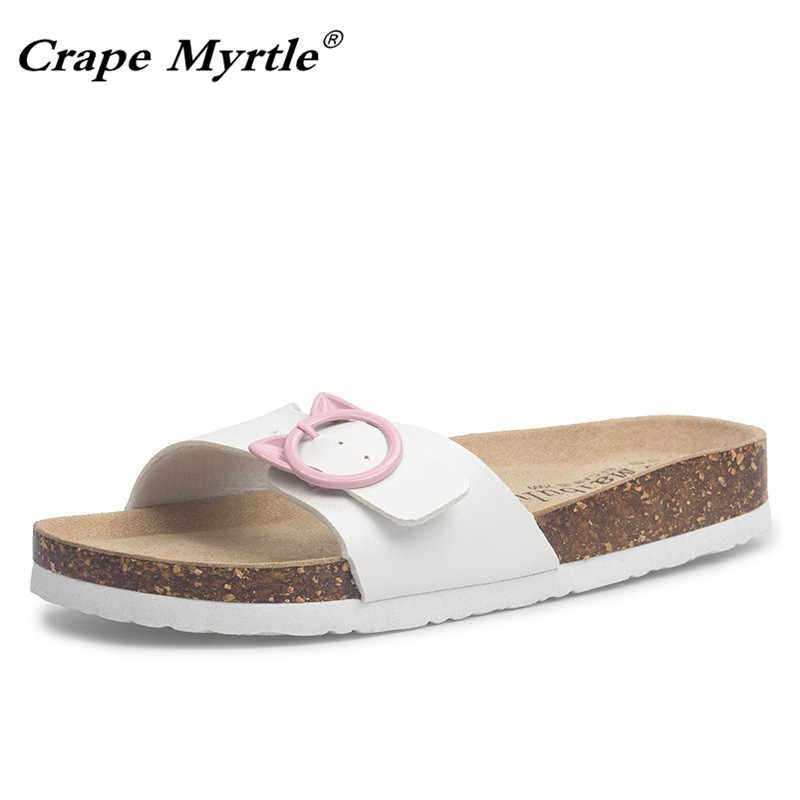 249830c383b8 New 2019 fashion Slides Summer Style Comfortable Shoes Women Orthotic Cork  Slippers Slip-on Casual