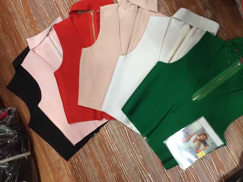 Factory Wholesale New Top A Variety Of Colors Fashion With Tight Bandage Tops (H1417)
