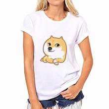 Dog Print Female T Shirt