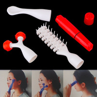 Hot Selling Multifunction Face Scalp Roller Multi Point Massage Vibration Massager Set