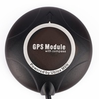 Lightweight Portable Power By Ublox NEO M8N GPS Module With Compass Suitable For Pixhawk4 Flight Controller