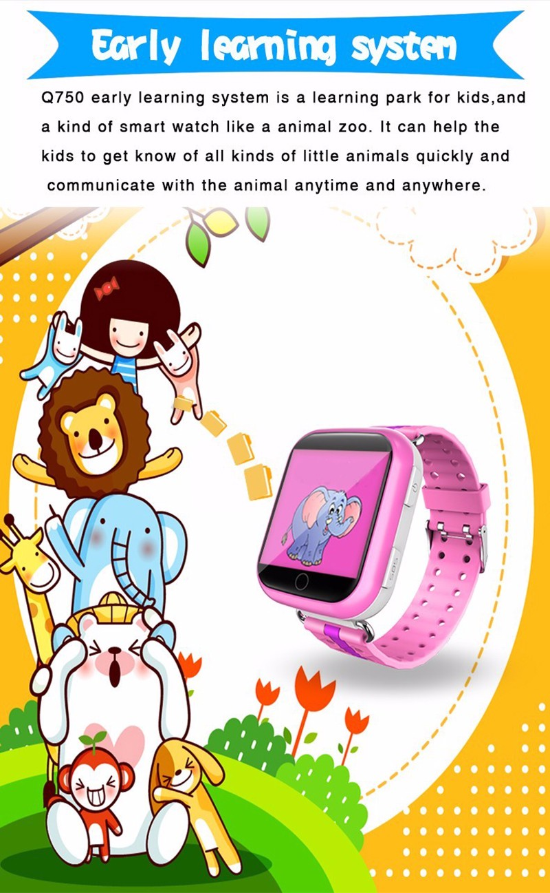 E1222 Q750 Smart Watch GPS-8