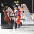 "Anime japonés Dragon Ball Z Goku Estatuilla Ángel Cifras ""Say Goodbye"" PVC Modelo Juguetes 16 cm"