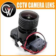 "StarLights F0.95 M16 Focal 4mm lente 8MP 1/2.7 ""ir cut + lente para IMX327 , IMX307 , IMX290 , IMX291 Módulo de placa de cámara"