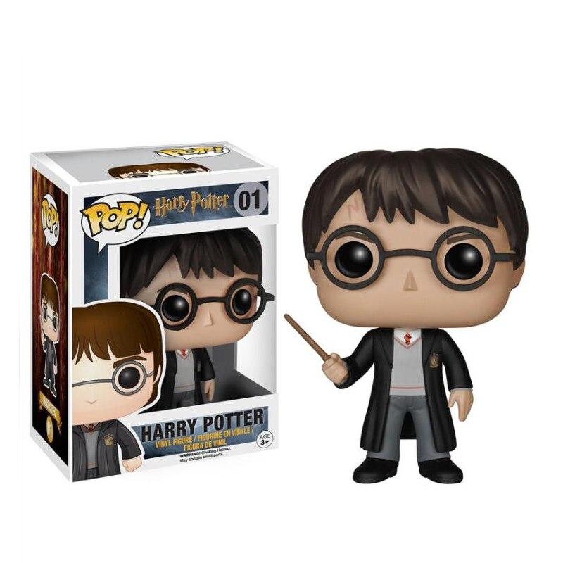 Envío de la gota lindo muñecas de película Severus Snape Hermione Ron Weasley Dobby figura de acción niños bebé juguetes para los niños Funko POP juguete