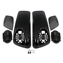 Saddle Bag Lids W/ 5X7 Speakers For Harley Touring Electra Road Glide King FLH FLTR FLHX FLHR FLHTK FLHRC FLHT FLT 14-18