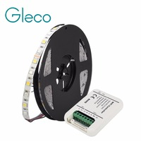 5M LED Strip 5050 RGB CCT with WiFi LED controller Full Colour Temperature adjustable LED Strip RGB CCT 5050 60LEDs/m 12V 24V