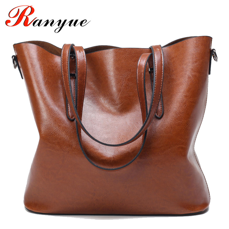 RANYUE 2017 New Shoulder Bag Women Leather PU High Quality Tote Bags Womens Fashion Bags Handbags