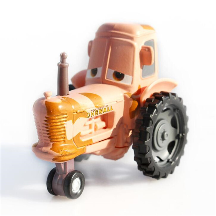 Cars Disney Pixar Cars 3 Tractor Metal Alloy Diecast Toy Car 1:55 Loose Brand New In Stock Disney Car Children Toys Gifts