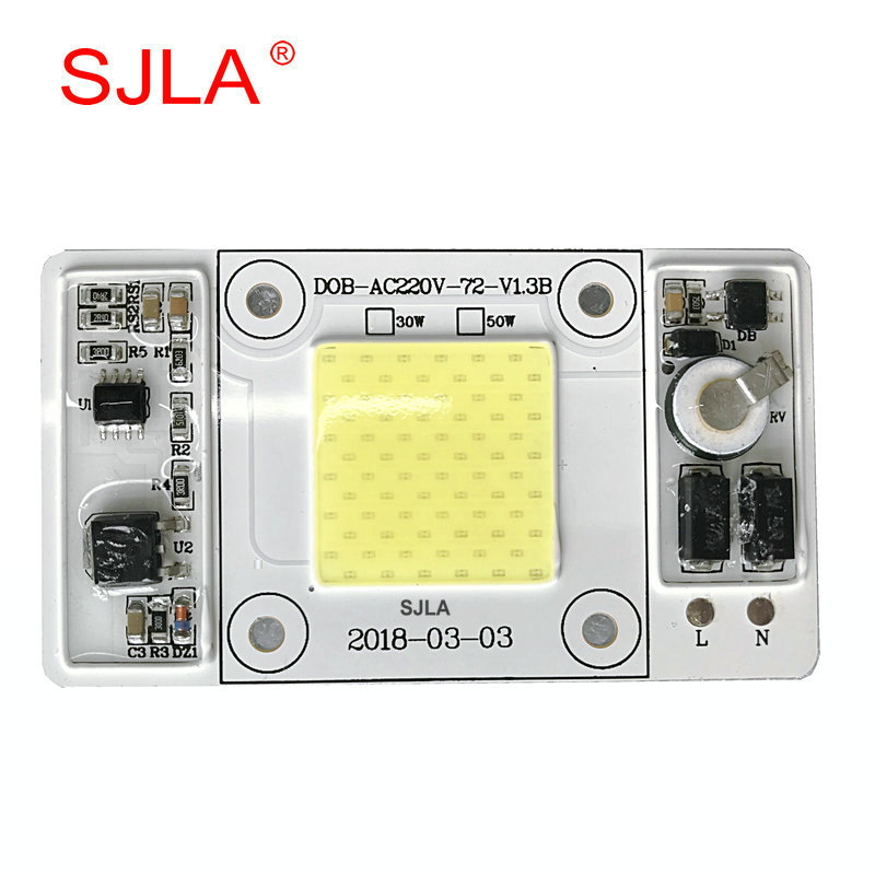 Chip Power Diver Integration Projecteur Exterieur Refletor Lamp Warm Cool Natural White 110V 220V 50W 100W 200W Led Flood Light ...