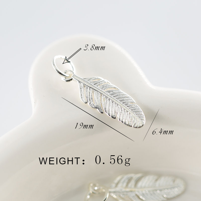 Vjollcë 100% e vërtetë 925 e vërtetë argjendi e pastër Charms - Bizhuteri të modës - Foto 3
