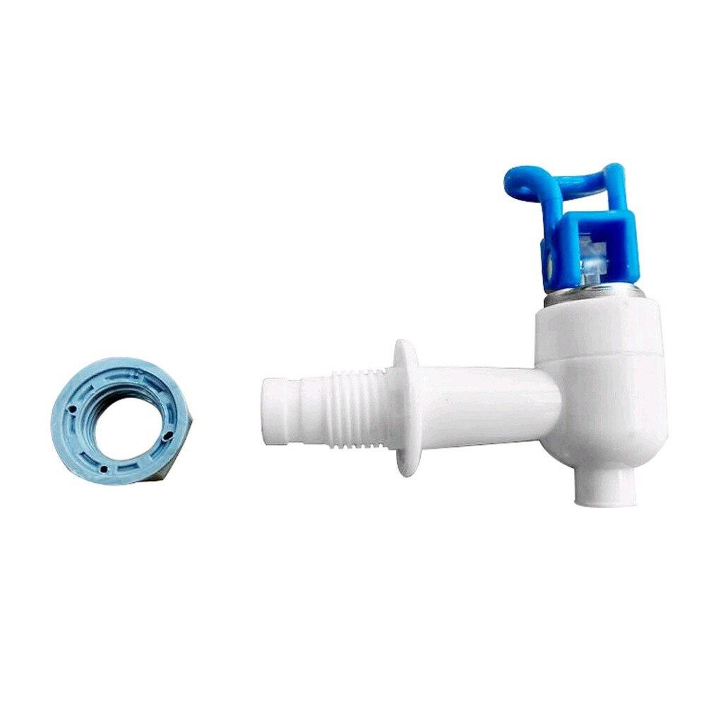 Water Dispenser Tap Cooler Drink 7.3mm Exit Spigots Valve Faucet White Blue Plastic Push Type Spigot Valve Faucet TapWater Dispenser Tap Cooler Drink 7.3mm Exit Spigots Valve Faucet White Blue Plastic Push Type Spigot Valve Faucet Tap