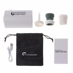 Image 1 - Mini bomba de aire ligera a prueba de agua, carga USB para inflables, inflado rápido