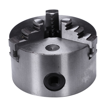 DSHA K11-100 3 Jaws Manual Lathe Chuck 100Mm 4Inch Self-Centering Chuck Three Jaws Hardened Steel For Drilling Milling Machine