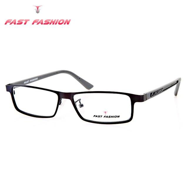 af40e4702b FAST FASHION 2016 Glasses Frame Women Oculos De Grau Fashion Men Computer  Gaming Eyeglasses Frames Fit
