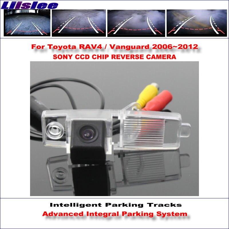 Liislee caméra arrière pour Toyota RAV4/Vanguard 2006 ~ 2012 voies de stationnement intelligentes sauvegarde inverse/guidage dynamique