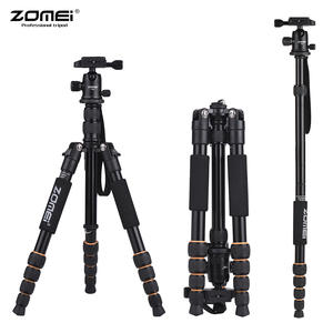 ZOMEI Camera Tripod Q111 Q666 DSLR Professional Travel Nikon Q555 Portable Canon Sony