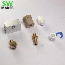 Ultimaker Originele hotend pack kit/set voor DIY 3D printer dual extrusie upgrade kit Voor ultimaker originele en ultimaker + Plus