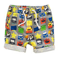 Лето симпатичные одежда хлопка детей пляж спорт мужчины брюки mid колено длина мальчиков шорты брюки дошкольного брюки малыша шаровары
