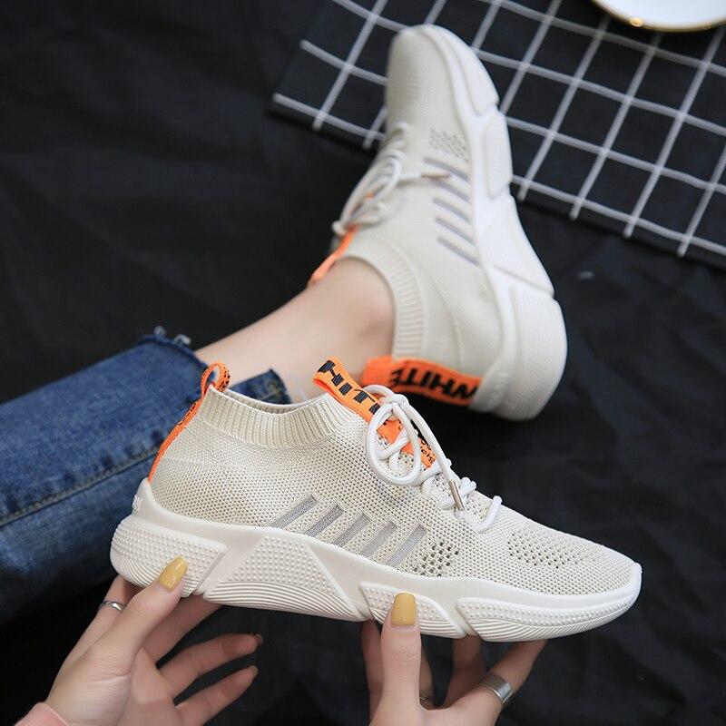 LFFZ Breathable Sneakers Women Fashion Casual Shoes for Women Summer Mesh Running Sneakers Women Vulcanize Shoes Tenis FemininoLFFZ Breathable Sneakers Women Fashion Casual Shoes for Women Summer Mesh Running Sneakers Women Vulcanize Shoes Tenis Feminino