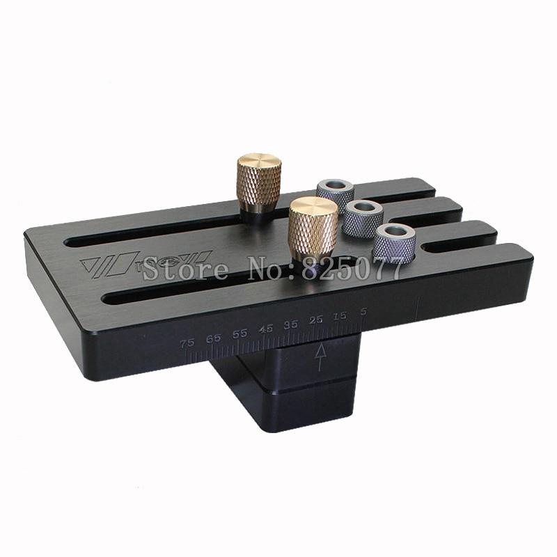 цена на Premium Woodworking tools Wood Dowelling Jig Master Kit Set For Drilling 6mm,8mm,10mm Dowel Holes with Twist Drill Set KF1028