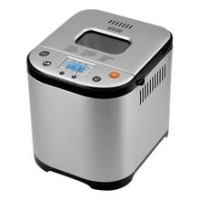 Хлебопечь MYSTERY MBM-1208 (Мощность 710 Вт, вес выпечки до 1000 г, 15 программ, автоподогрев, таймер)