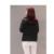 Jitivr Caliente 2017 Más Nuevas mujeres de la Moda Cálida Chaqueta Corta de Algodón acolchado Adapta Collares Engrosamiento Capa de Pan de Alta Calidad