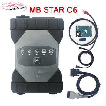 MB Star C6 car Diagnosic Xenntry VCI with SSD V06.2020 software C6 support CAN/DOIP mb C6 Xenntry VCI  no WiFi MB CAR scanner g75vx mb