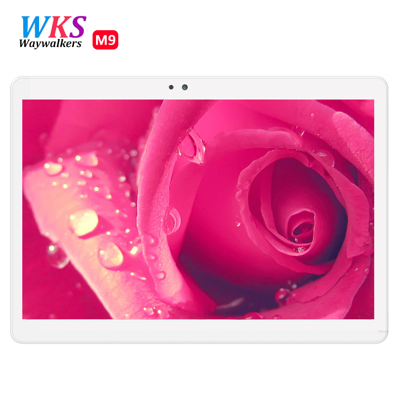 NEW 10.1 inch Tablets Pcs 1200*1920 IPS 4GB Ram 64GB Rom Dual Camera GPS Dual 4G Lte Phone Tablet PC Android 6.0 Octa Core