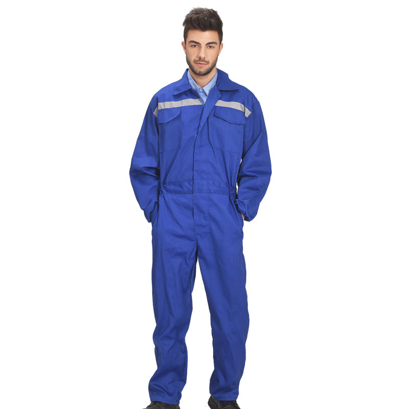 Men Work Clothing Long Sleeve Reflective strip Safety Coveralls Dust-proof Anti-pollution Paint Auto Repair Overalls Plus Size mens work clothing reflective coveralls windproof road safety maritime clothing protective clothes uniform workwear plus size