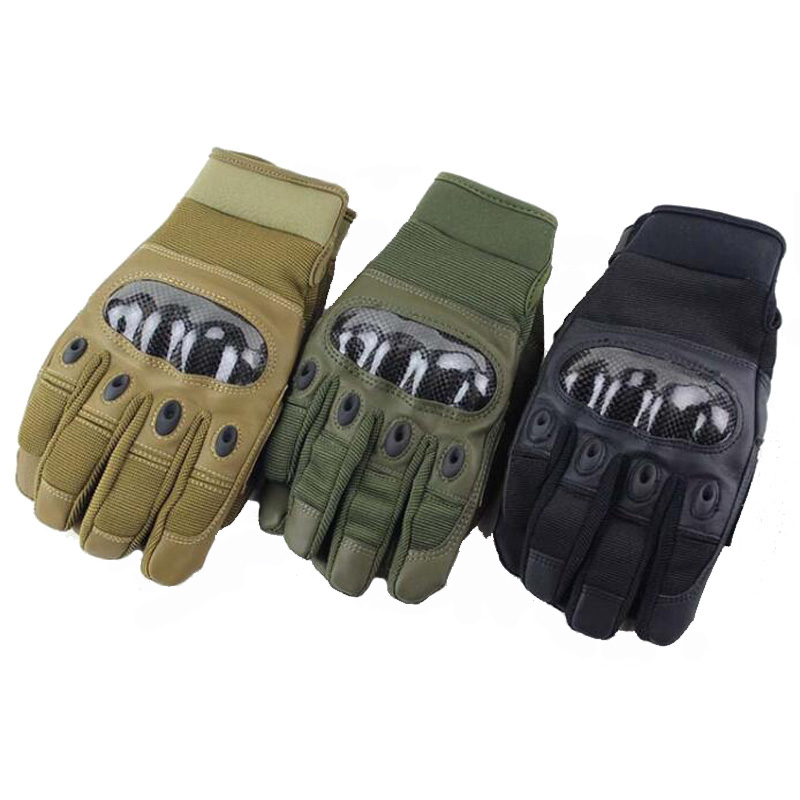 Good Sport Accessories Military Tactical Gloves Outdoor Hunting Climbing Men's Full Finger Protection Gloves For Hiking Cycling